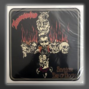 TORMENTOR vinyl Seventh Day of Doom front